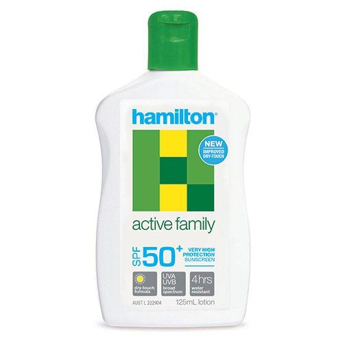 Hamilton Active Family Lotion 125mL