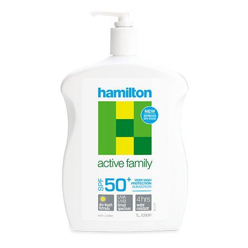 Hamilton Active Family Lotion 1L