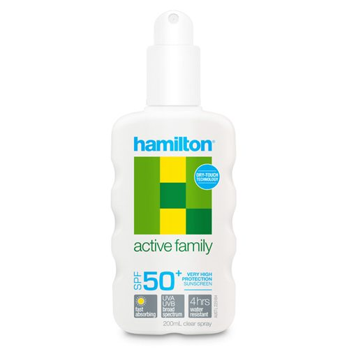 Hamilton Active Family Lotion 200mL