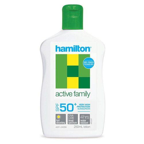 Hamilton Active Family Lotion 250mL