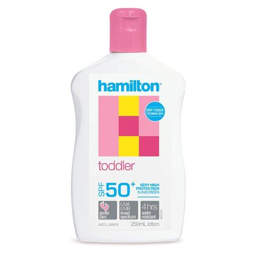 Hamilton Toddler Lotion 250mL