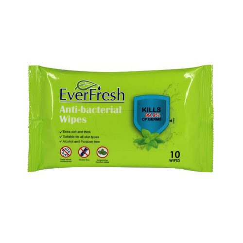 Everfresh Antibacterial Wet Wipe PK10
