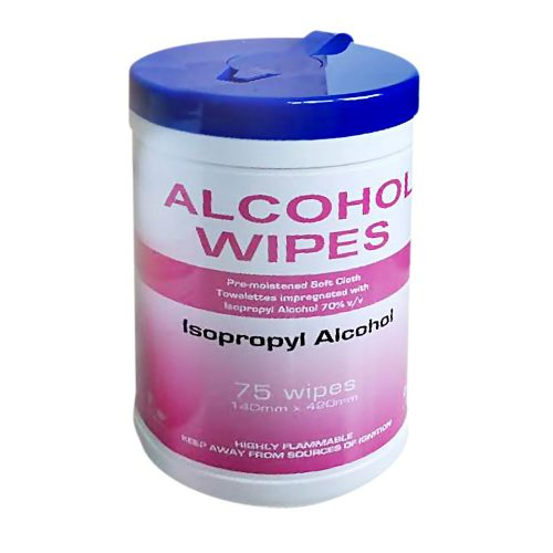 Isopropyl Alcohol Wipes TUB75